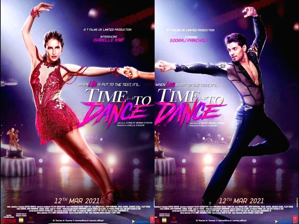 Sooraj Pancholi, Isabelle Kaif starrer 'Time To Dance' releases on March 12  (Credit: Instagram)