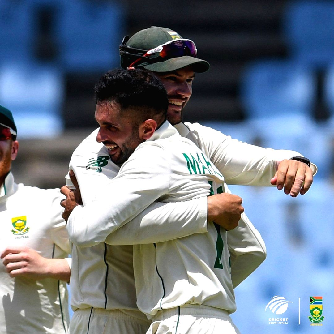 South Africa crush West Indies, win Test series 2-0.(photo:Cricket South Africa Twitter)