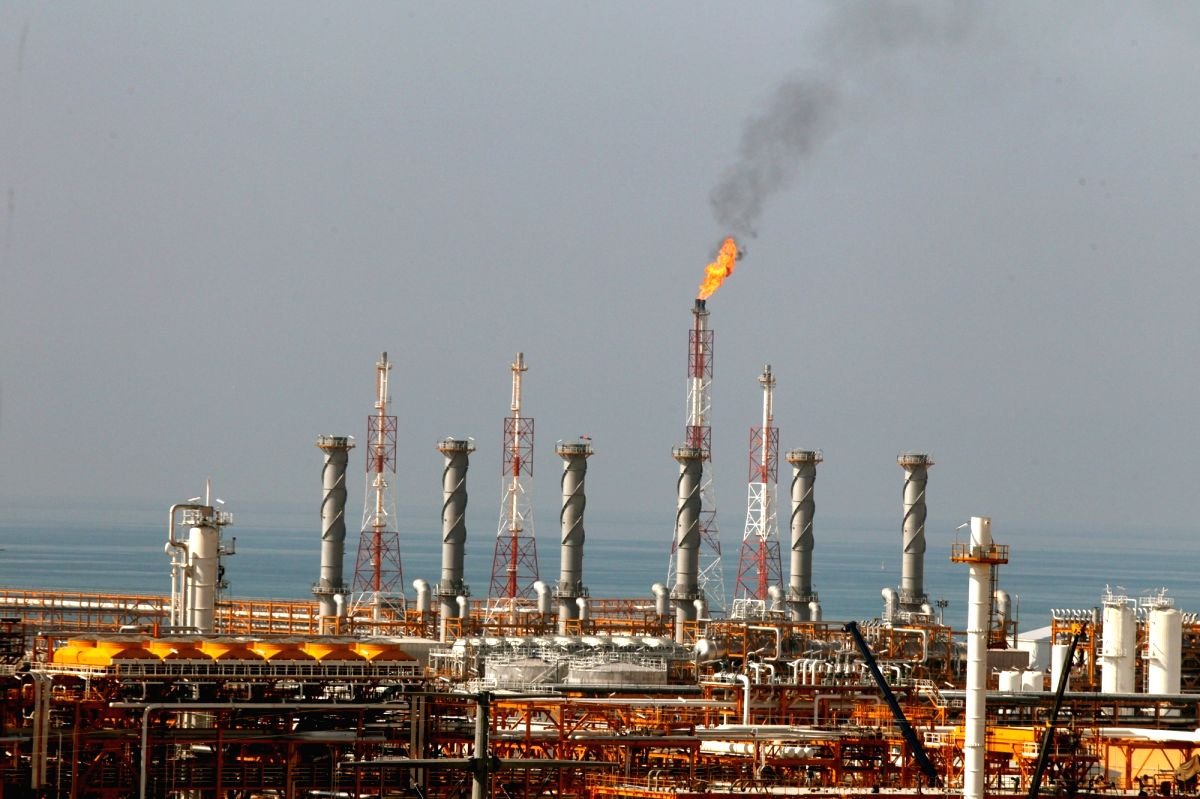 South Pars gas field. (File Photo: IANS)