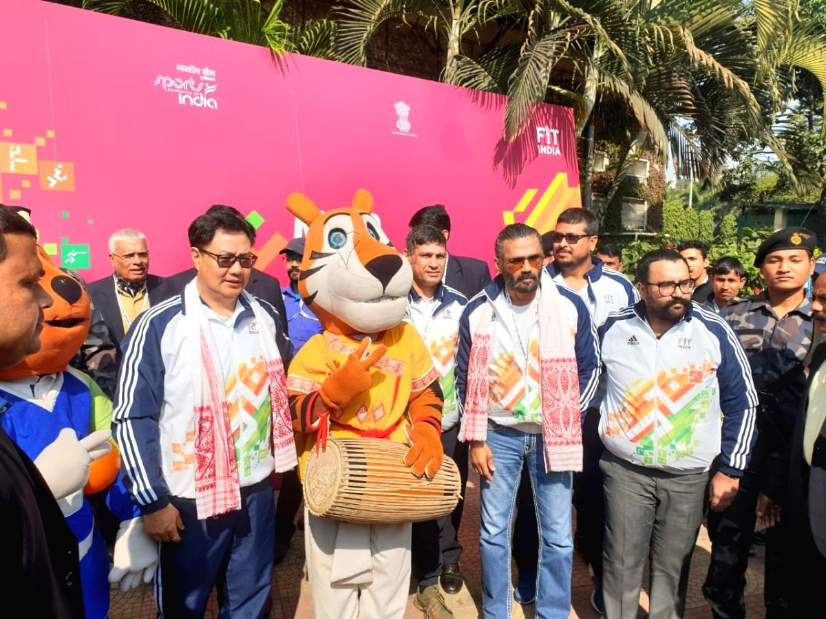 Sports Minister Kiren Rijiju and Bollywood actor Suniel Shetty have called for a clean and drug-free sports culture and urged the Khelo India athletes to refrain from any banned substances here on Tuesday.