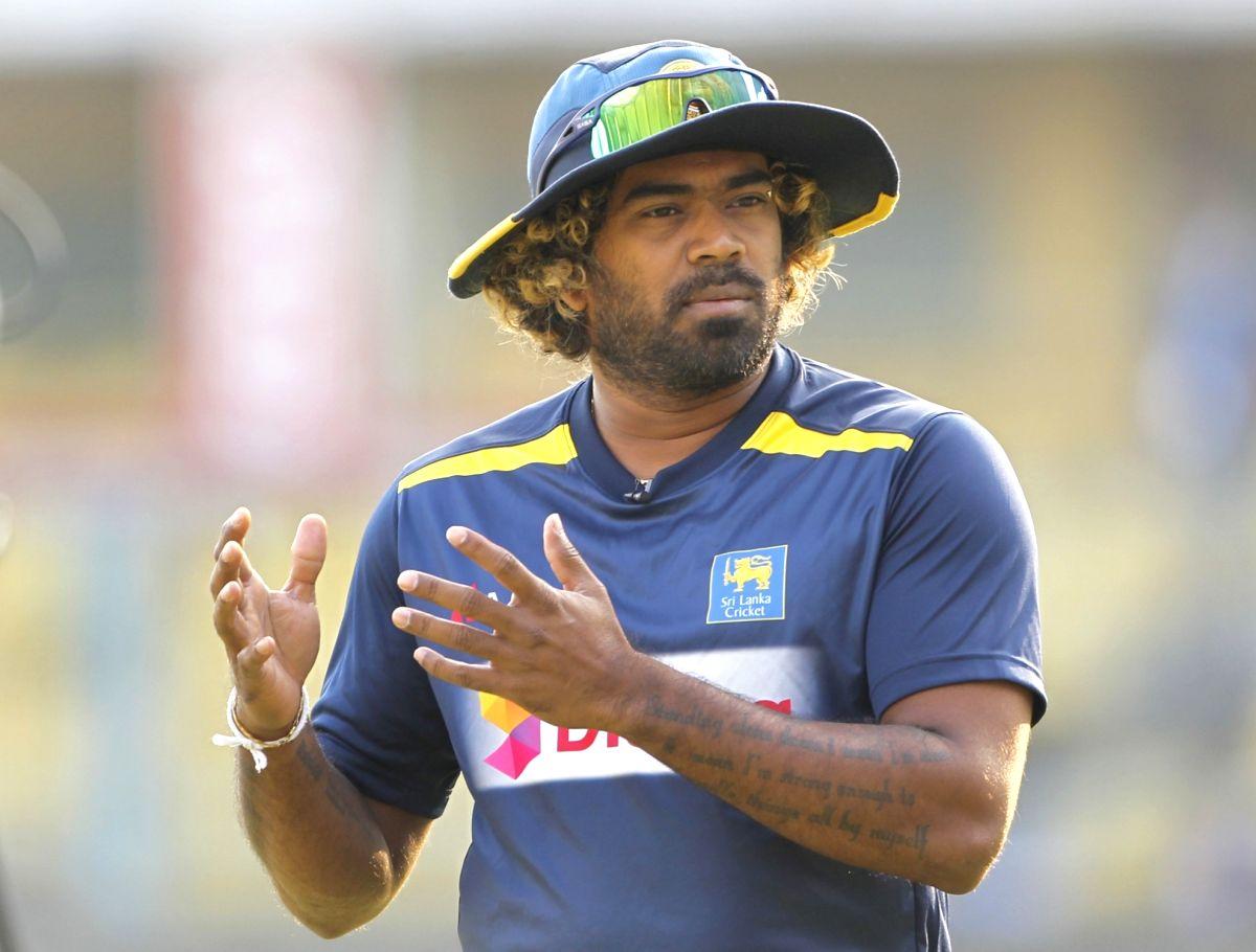 Sri Lankan skipper Lasith Malinga l