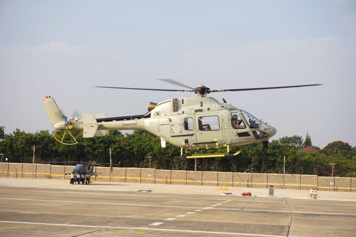 State-run Hindustan Aeronautics Ltd (HAL) has tested the third prototype of Light Utility Helicopter (LUH).