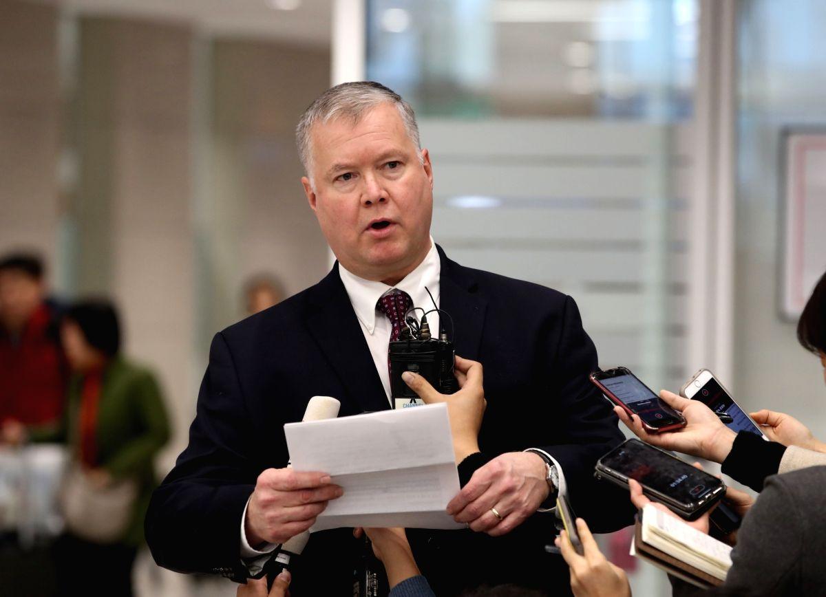 Stephen Biegun, the top U.S. diplomat (Yonhap/IANS)