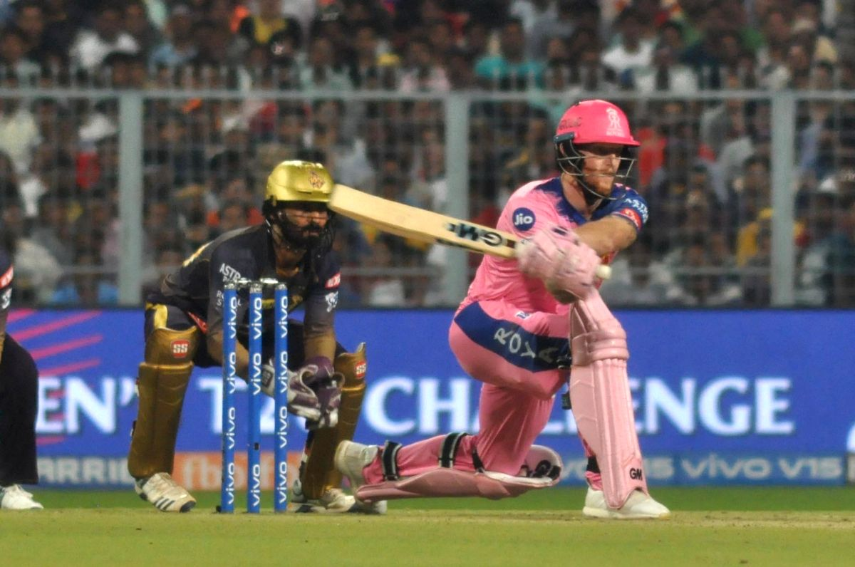 Stokes 1st batsman to score a ton in two successful IPL chases