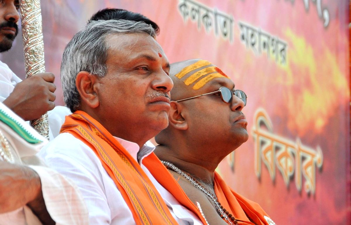 Surendra Kumar Jain. (Photo: Kuntal Chakrabarty/IANS)