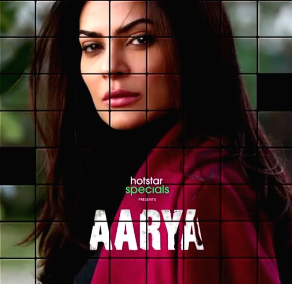 Sushmita Sen teases powerful comeback with 'Arya'.