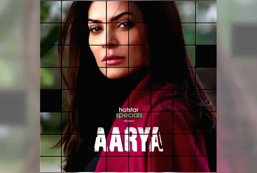 Sushmita Sen teases powerful comeback with 'Arya'.