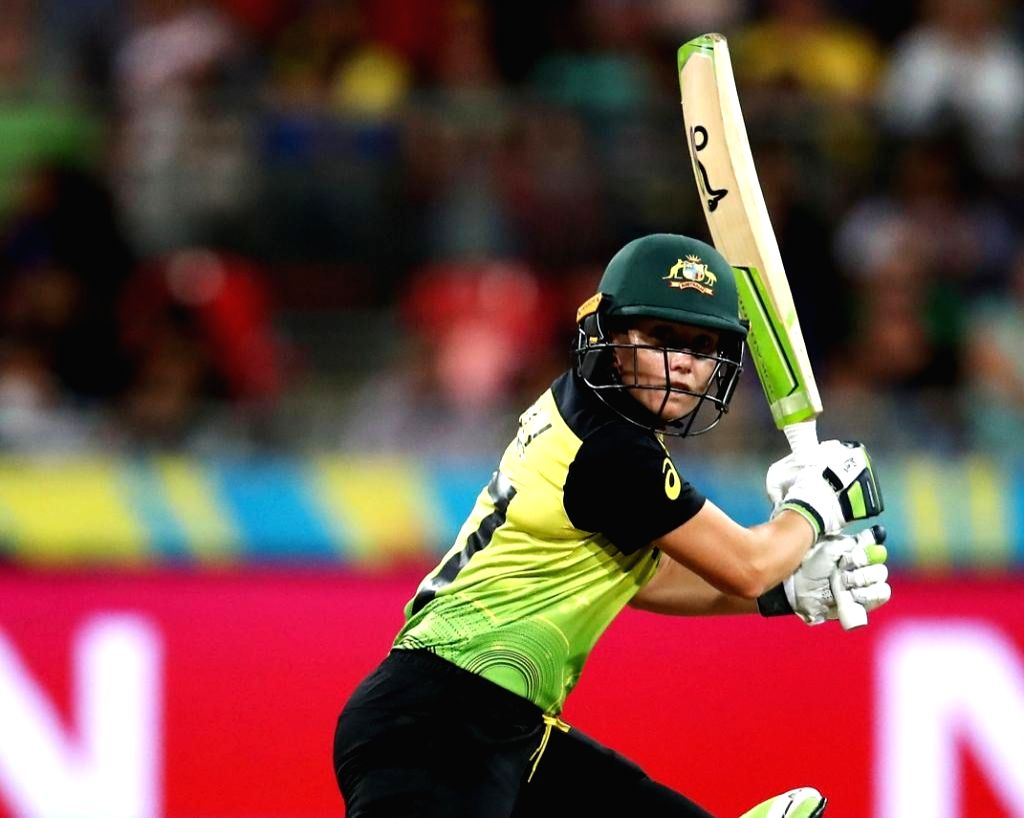 Sydney: Australia's Alyssa Healy in action during the ICC Women's T20 World Cup 1st match between India and Australia at Sydney Showground Stadium in Sydney on Feb 21, 2020. (Photo: Twitter/@T20WorldCup)