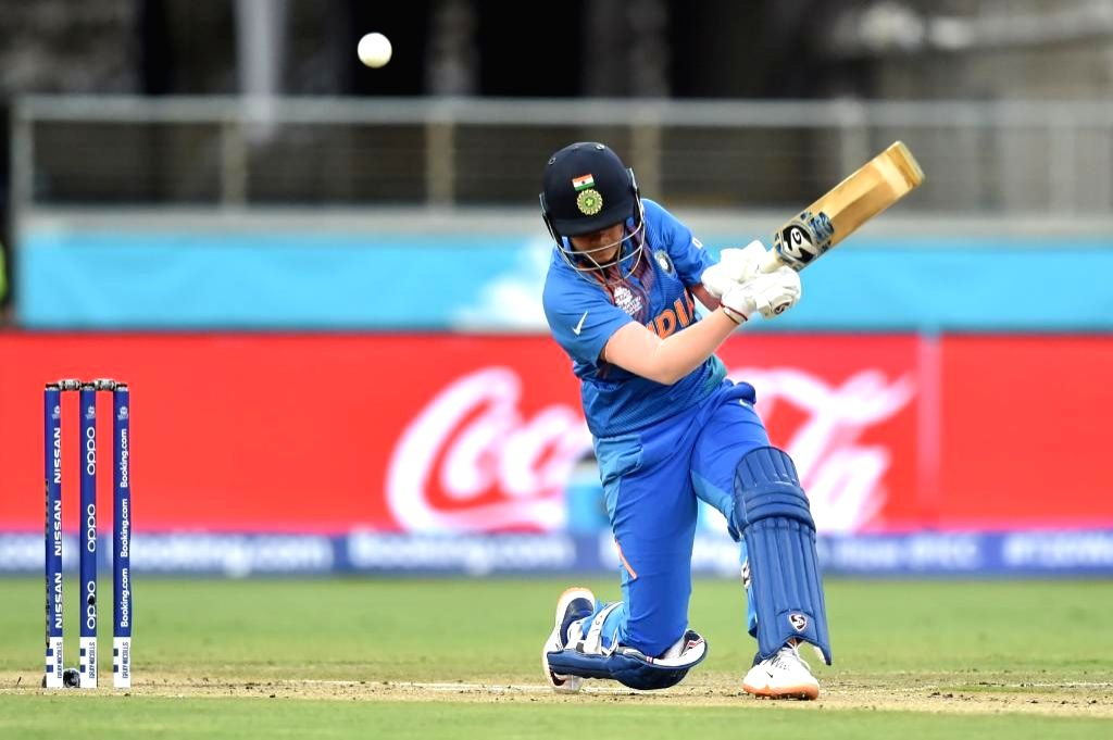 Sydney: India's Shafali Verma in action during the ICC Women's T20 World Cup 1st match between India and Australia at Sydney Showground Stadium in Sydney on Feb 21, 2020. (Photo: Twitter/@T20WorldCup)