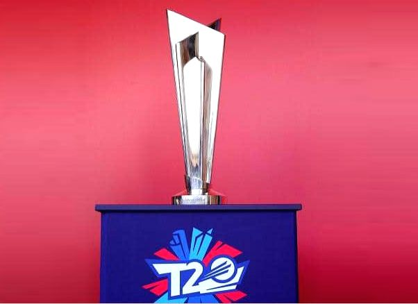 T20 World Cup Trophy.