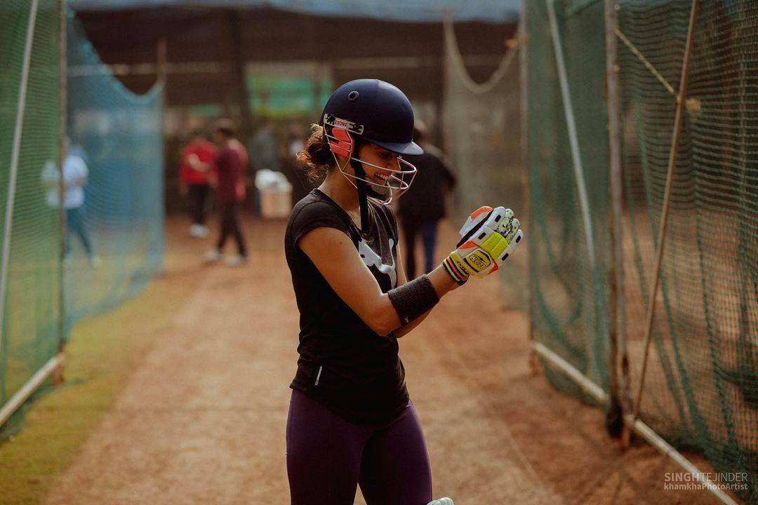 Taapsee pannu posts pitch set picture of Shabaash Mithu