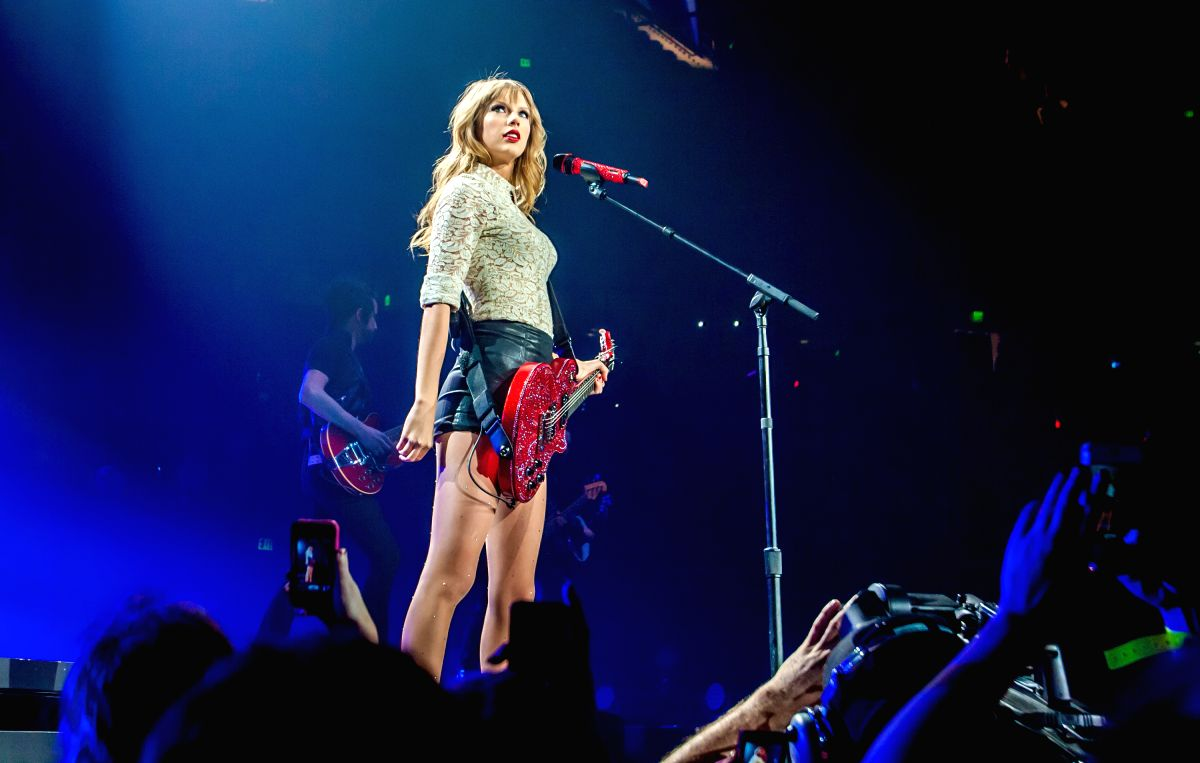 Taylor Swift. (Credit Image: © Jeff Blake/MCT/ZUMAPRESS.com)