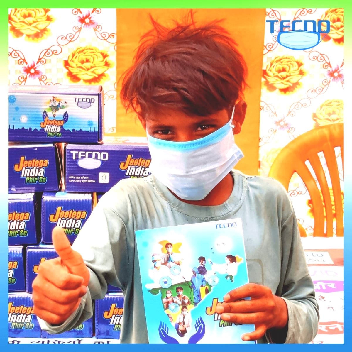 TECNO launches Jeetega India Phirse social initiative to fight against Covid