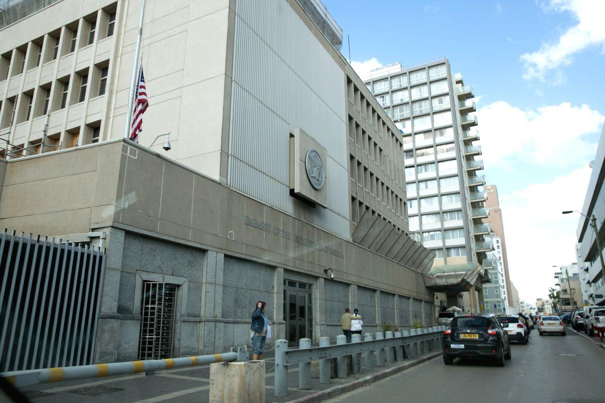 ISRAEL-TEL AVIV-U.S. EMBASSY
