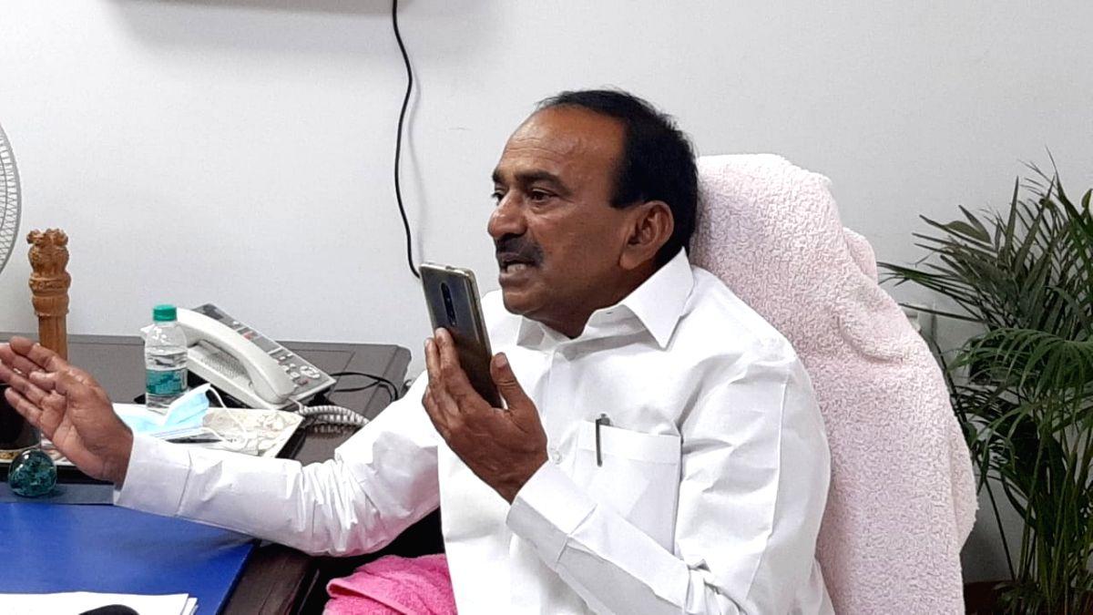 Telangana Health Minister reviews Covid preparedness amid surge (Twitter)