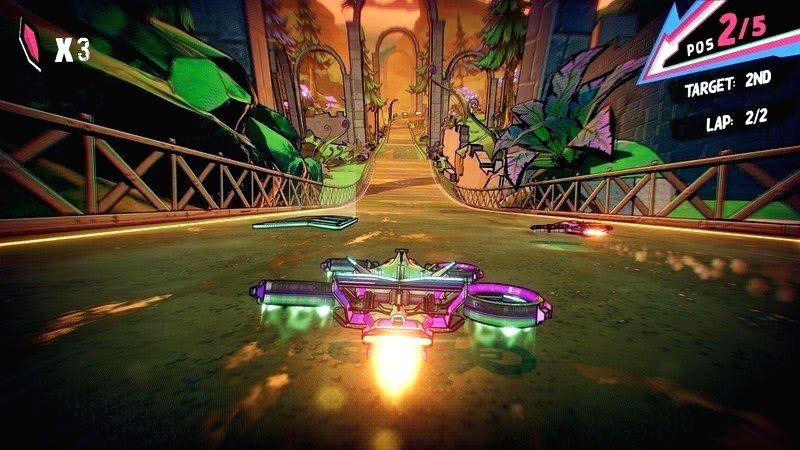 Teleporting racing game 'Warp Drive' arrives on Apple Arcade.