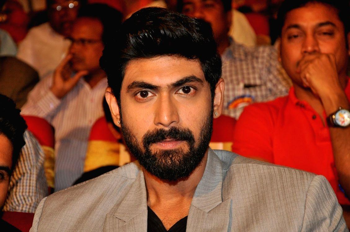 Telugu actors Rana Daggubati