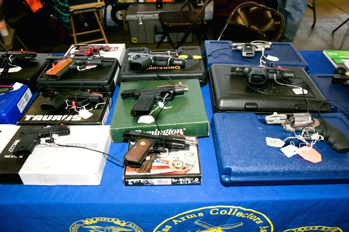 Texas residents can carry handguns without license from Sep