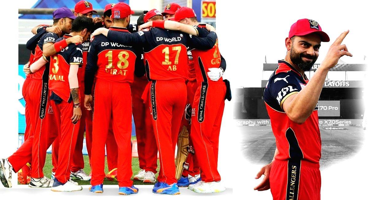 'Thank you' ; Kohli pens a heartfelt post as RCB bow out of IPL 2021.