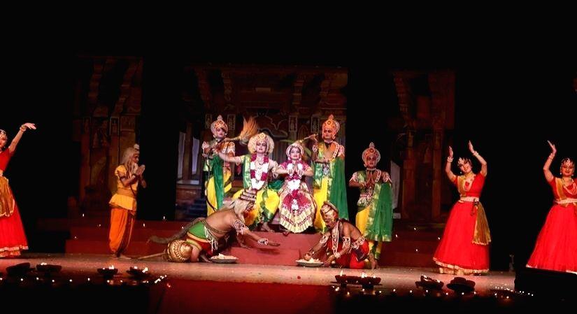 The 65th consecutive year of 'Shri Ram', the oldest annual dance drama.(photo:IANSLIFE)
