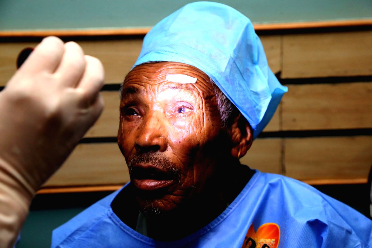 The ability of cataract surgery to restore sight is well known and a new study suggests that it can make people 48 per cent safer on the road. (Xinhua/Sunil Sharma/IANS)