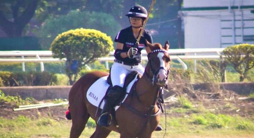 The compelling journey of polo player, DJ and designer Rina Shah