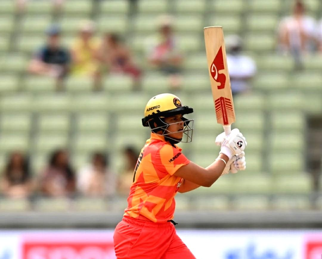 The Hundred: Shafali scores 22 but Smriti's team prevails. (Credit: England and Wales Cricket Board)