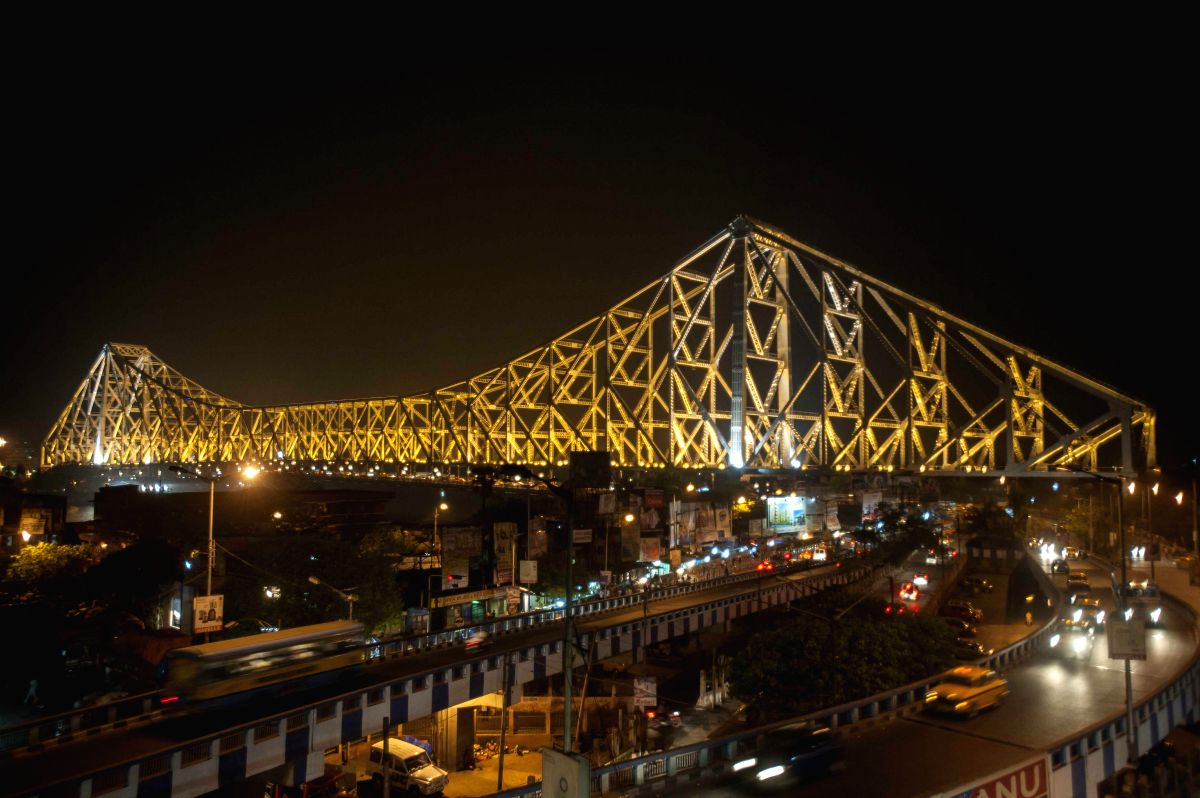 Howrah Bridge, Kolkata ,India