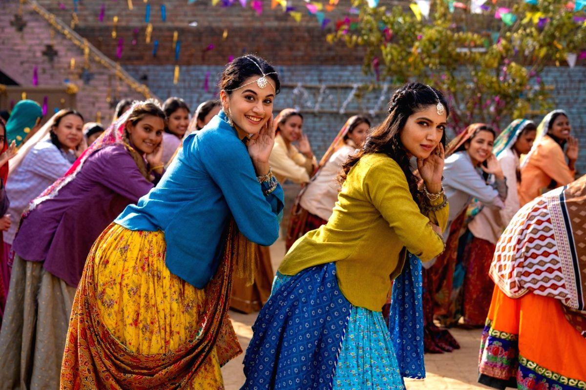 "The new song ""Womaniya"", from the upcoming Taapsee Pannu-Bhumi Pednekar starrer ""Saand Ki Aankh"""