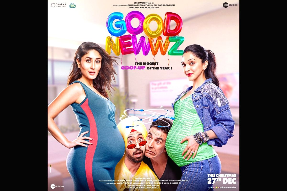The official posters of the most awaited film of this year, Good Newwz