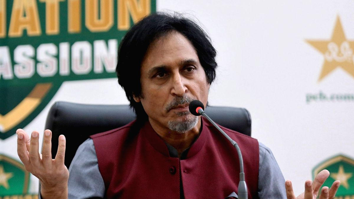 The point is England did not quote security at all: Ramiz Raja