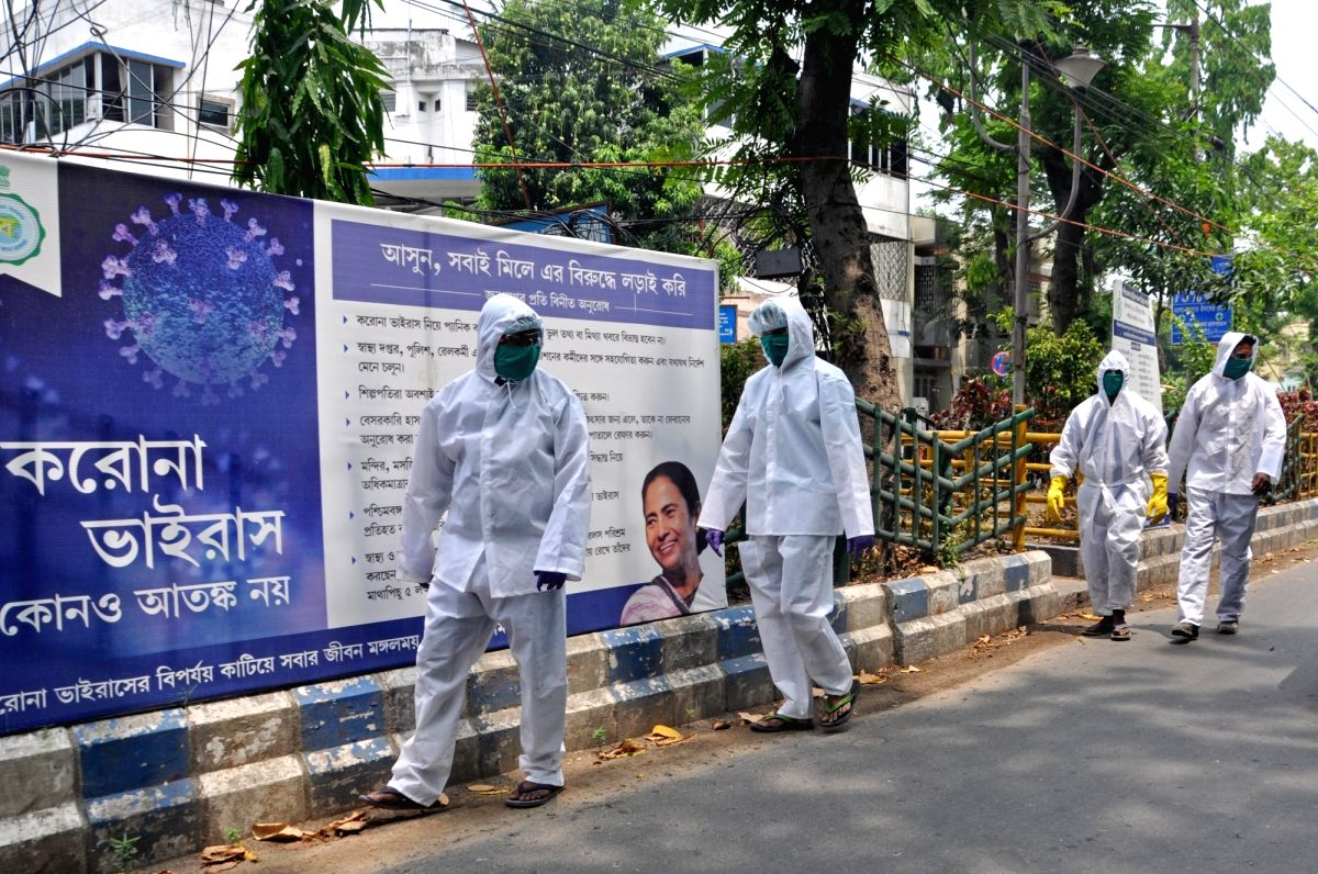 The West Bengal government has ordered the frontline medical personnel in state-run hospitals to stay in their headquarters and not commute to and from their residences for reducing strain and avoiding exposure to the coronavirus infection. (File Pho