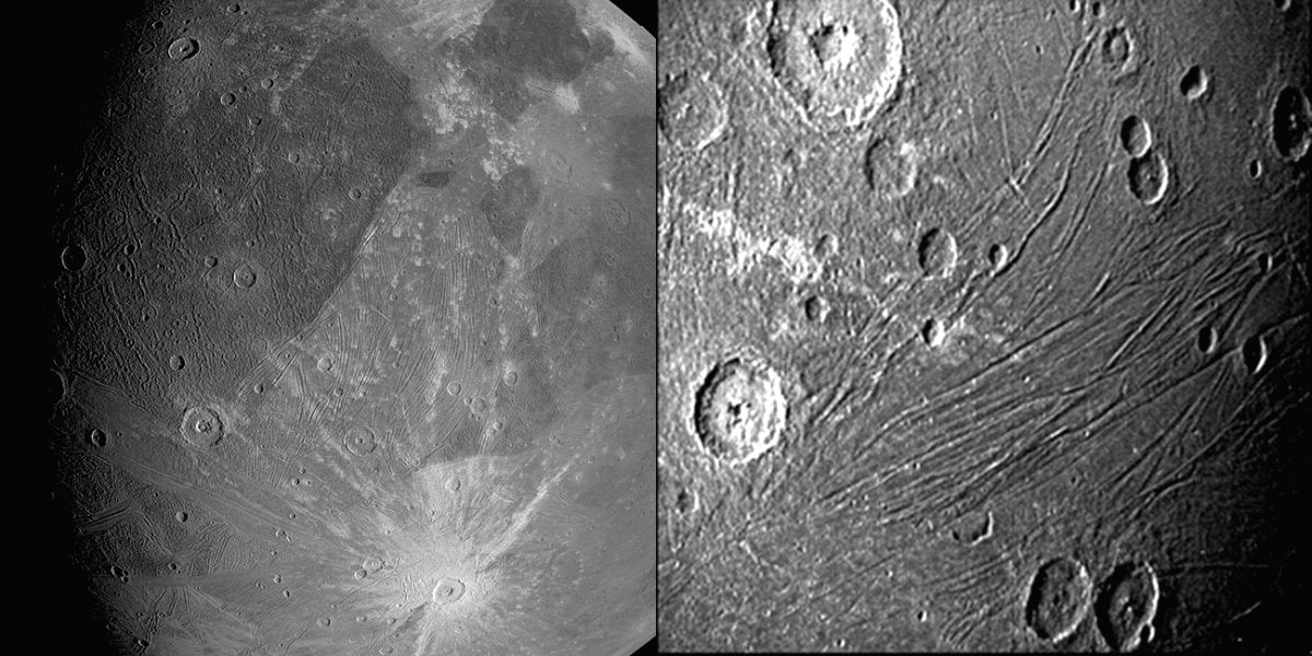 NASA's Juno sends 1st images of Jupiter's largest moon