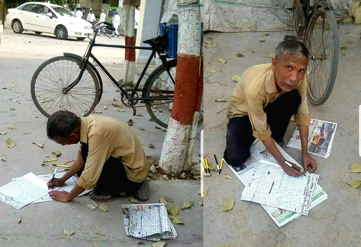 This journalist writes his own newspaper