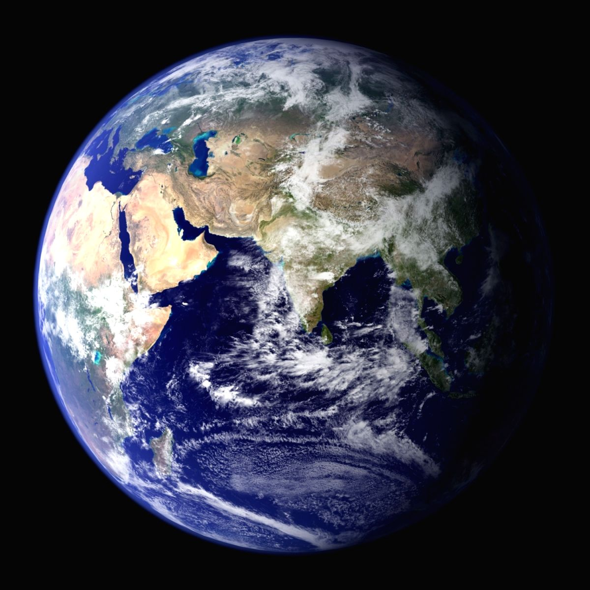 "This spectacular ""blue marble"" image of Earth is the most detailed true-color image of the entire Earth till date. (Photo Courtesy: Reto Stockli/NASA Goddard Space Flight Center)"