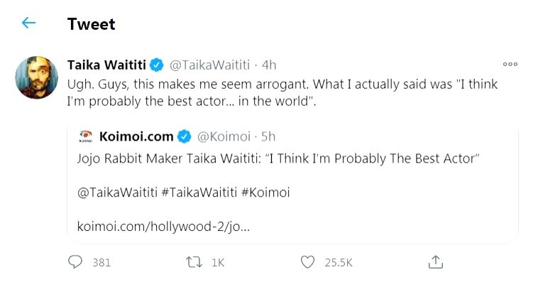 'Thor Ragnarok' director Taika Waititi finds humour in IANS story