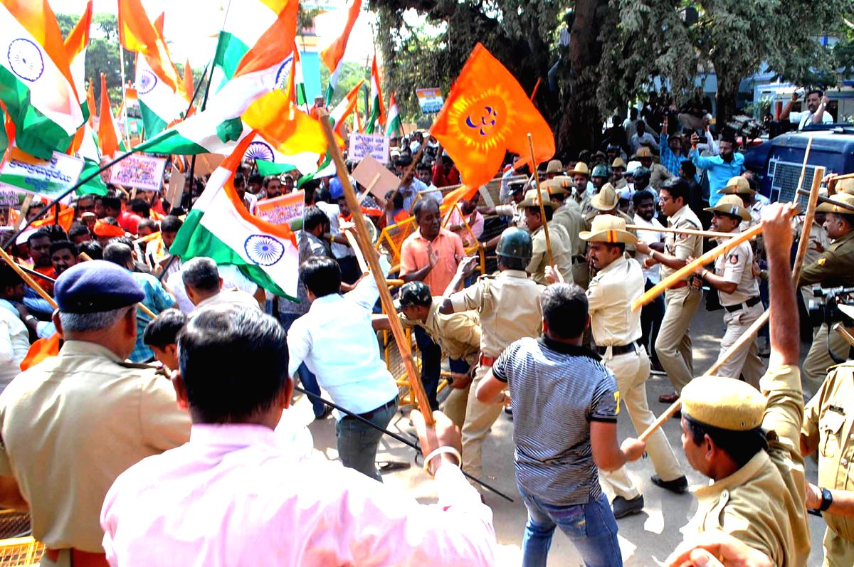 Thousands protest against CAA in north Karnataka city