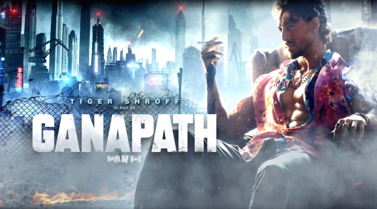 Tiger Shroff's Ganapath avatar unveiled.