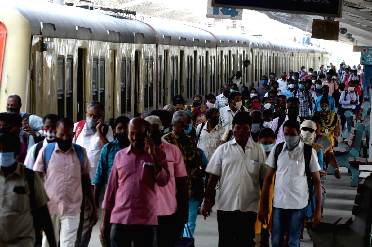 TN suburban trains allow travel to only frontline workers