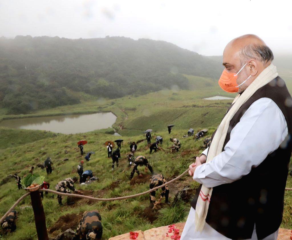 To restore greenery, AR to adopt world famed Cherrapunji for mega plantations : Amit Shah
