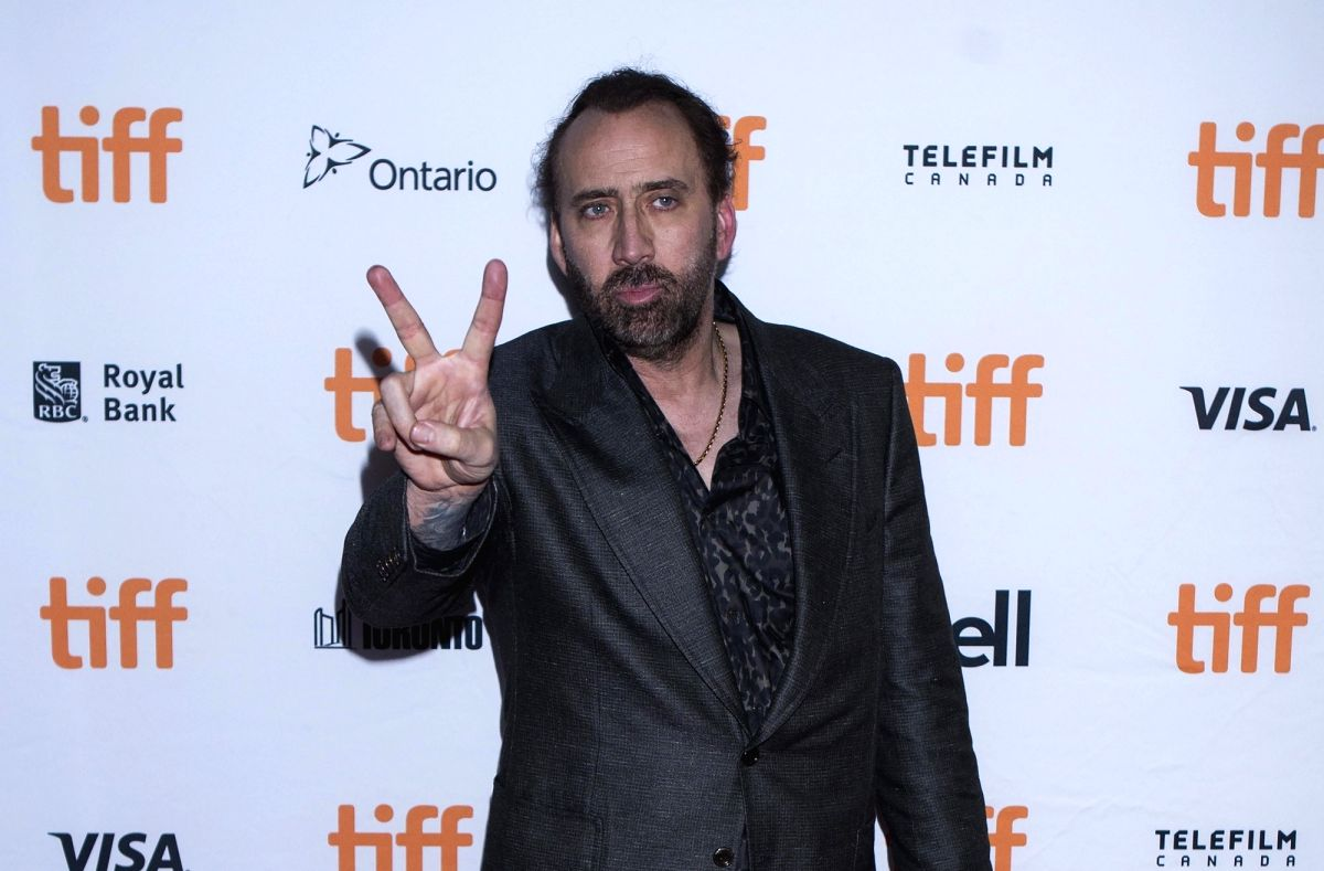 "TORONTO, Sept. 10, 2017 (Xinhua) -- Actor Nicolas Cage attends the world premiere of the film ""Mom and Dad"" at Ryerson Theatre during the 2017 Toronto International Film Festival in Toronto, Canada, Sept. 9, 2017. (Xinhua/Zou Zheng/IANS)"