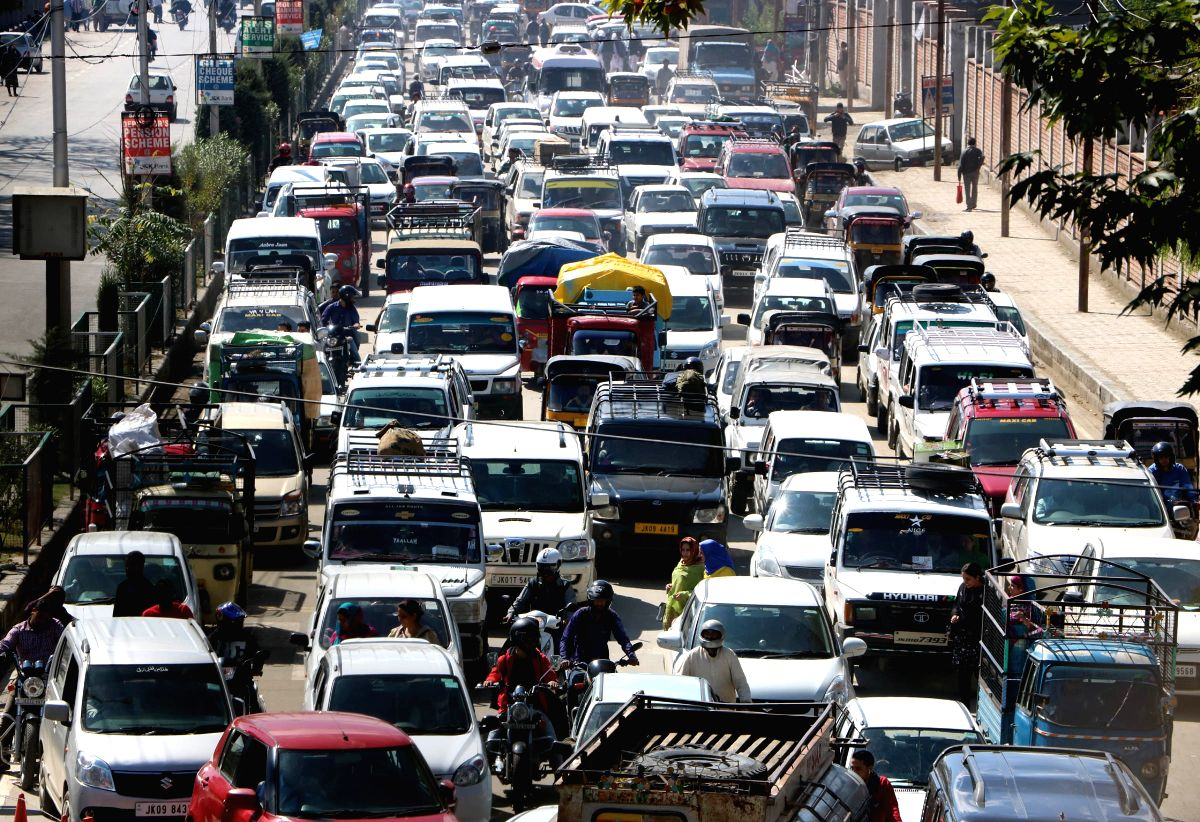 Traffic jam. (File Photo: IANS)