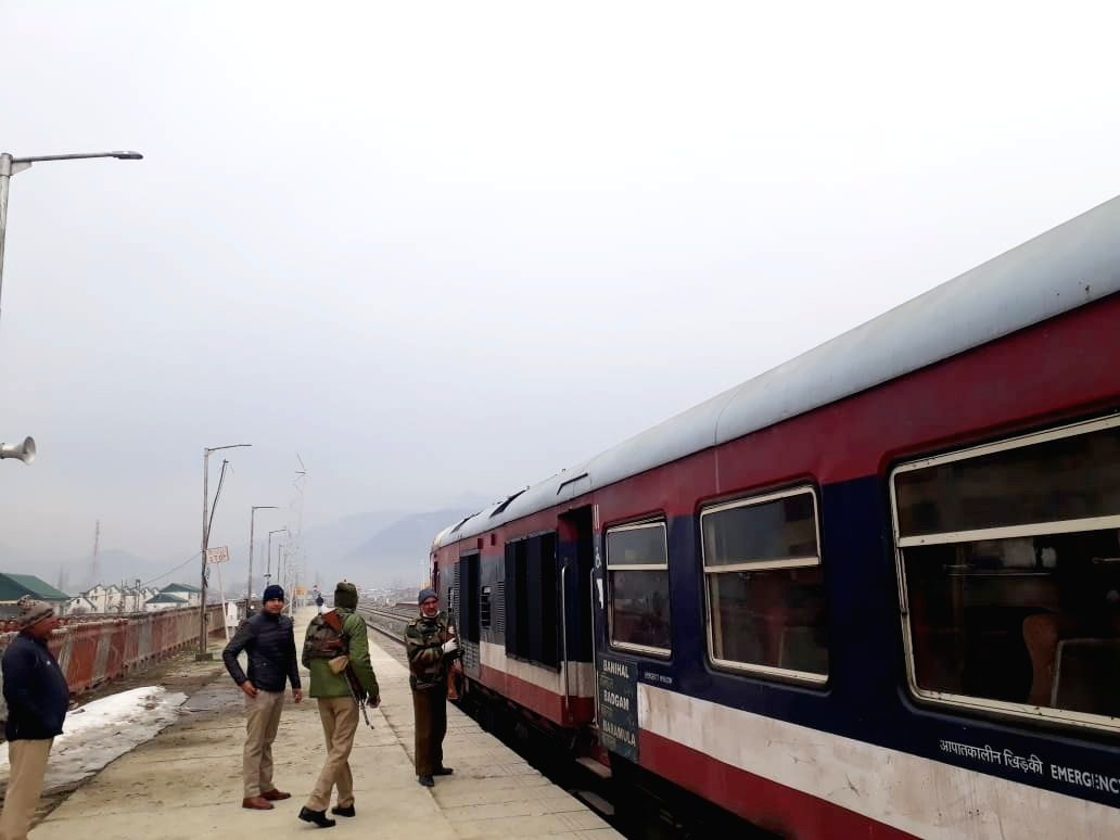 Train services suspended till May 16 in Kashmir Valley