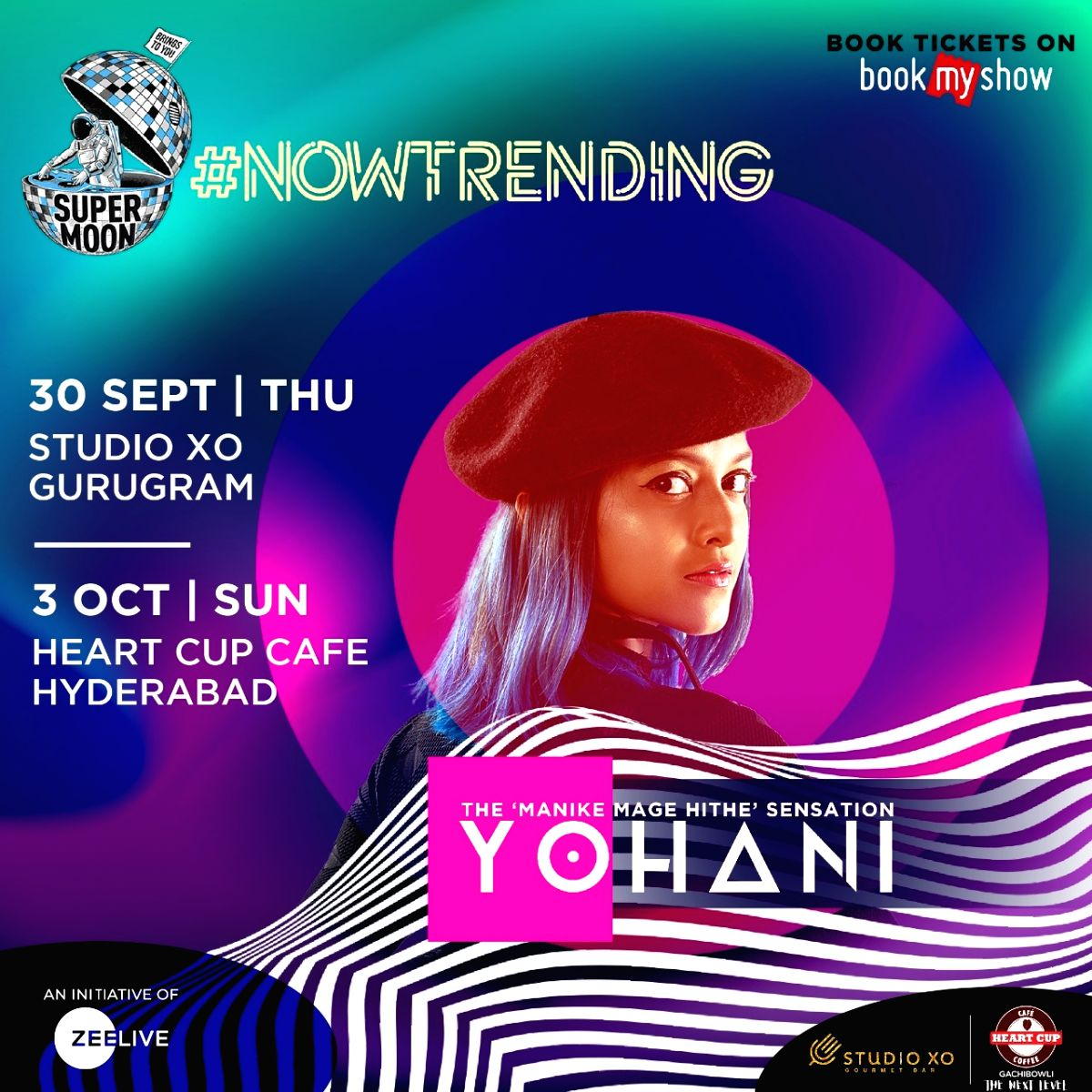 Trending Sri Lankan singer Yohan of 'Manike Mage Hithe' to perform in India.