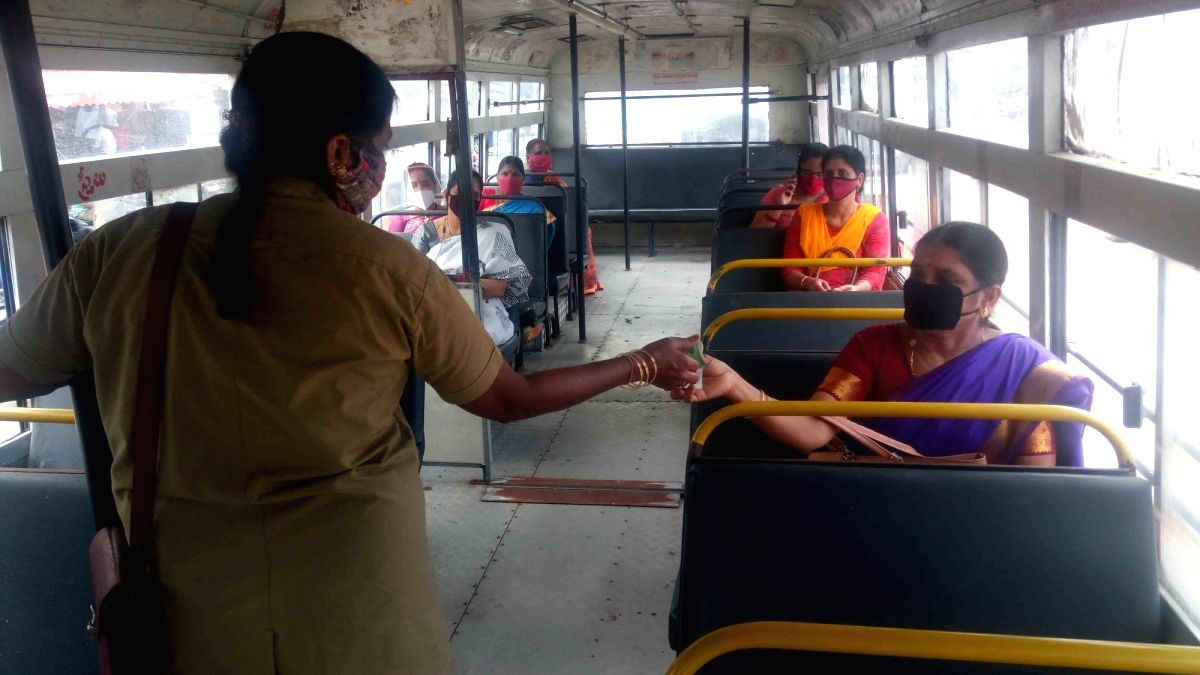 TSRTC pays salaries to staff with support from govt