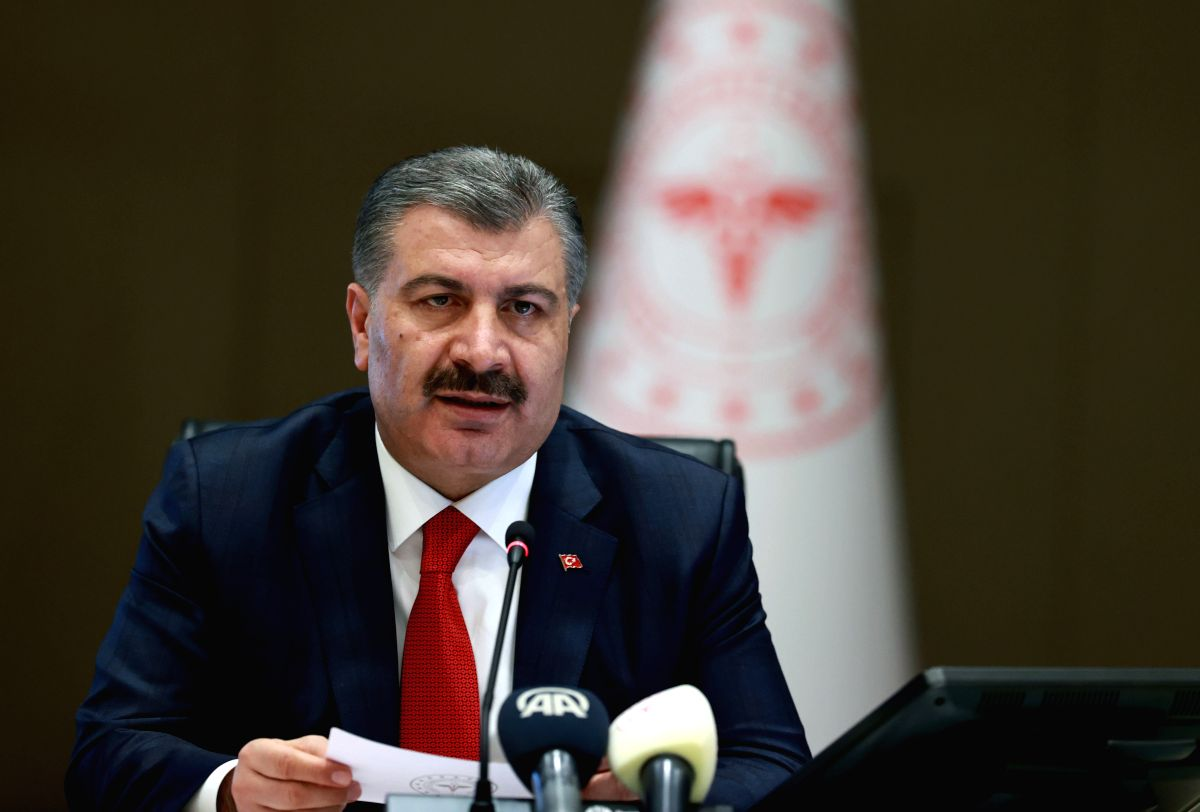 Turkey sees decline in COVID-19 new cases: Minister