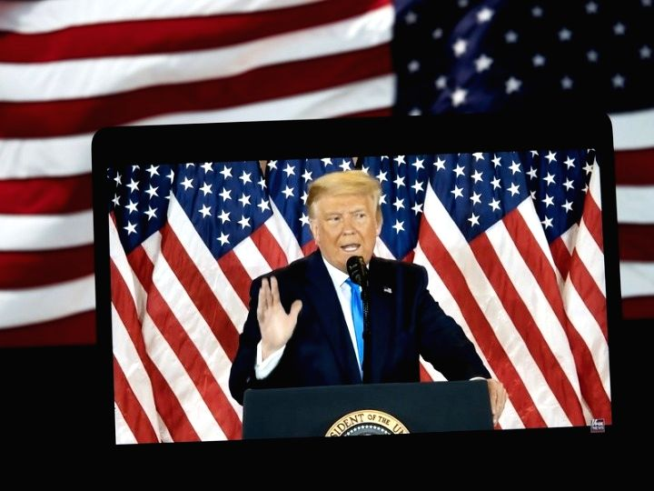 Will leave WH if Electoral College votes for Biden: Trump