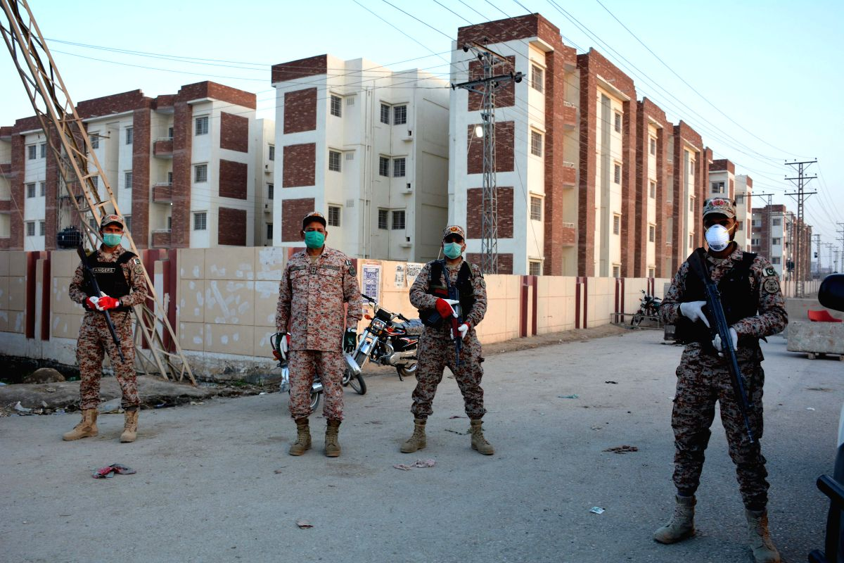 Two-week lockdown ordered in Sindh from Sunday night (Str/Xinhua/IANS)