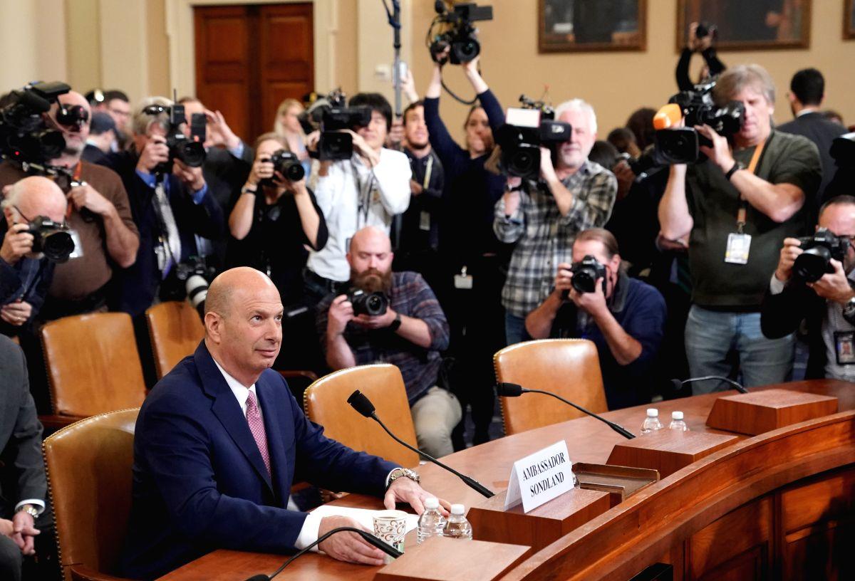 U.S. Ambassador to the European Union Gordon Sondland dismissed