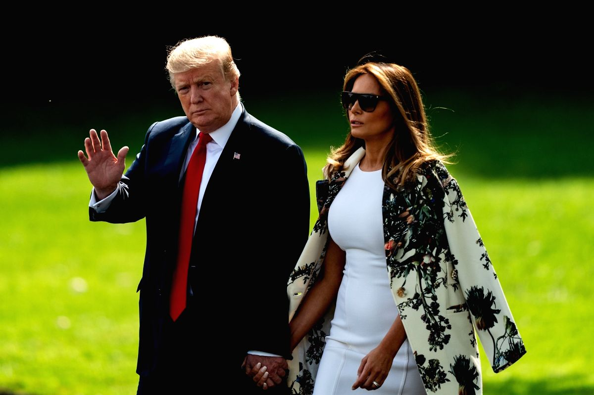 U.S. President Donald Trump and first lady Melania Trump. (File Photo: Xinhua/Ting Shen/IANS)